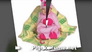 Cute Baby Pig Costume, Infant Piglet, Pig Ears, Miss Piggy Costume