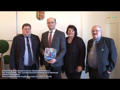 Tv Lupburg markt lupburg empfang bay minister albert füracker 02 04 2018