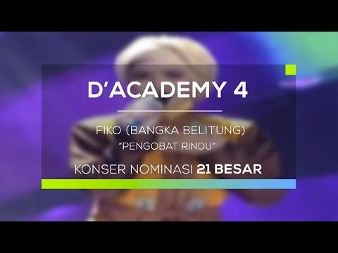 Fiko, Bangka Belitung - Pengobat Rindu (D'Academy 4 - Konser Nominasi 21 Besar Group 4)