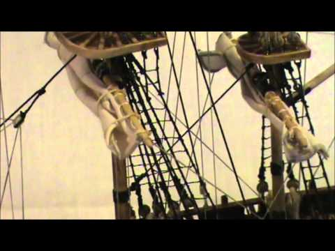 HMS BOUNTY MODEL SHIP PART 11 FINISHED