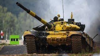 Día 3: Biatlón de tanques en los IV Juegos Militares Internacionales