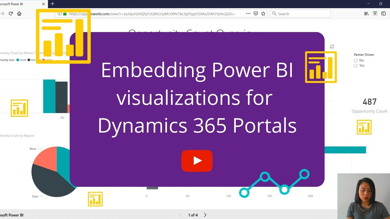 Embedding Power BI reports or dashboards in Dynamics 365 for Portals
