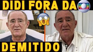 Renato Aragão é DEMITIDO da TV GLOBO