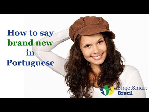 2 Colloquial Expressions to Say Brand New in Portuguese - Portuguese Lesson