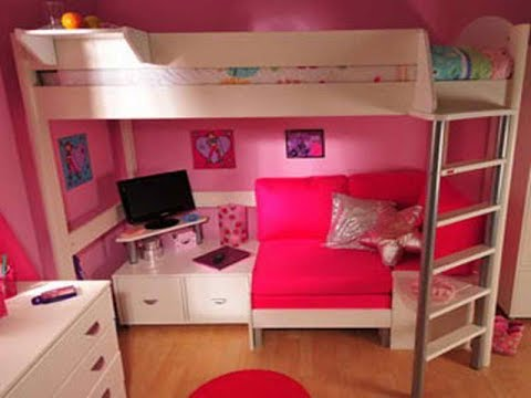 Bunk Bed With Couch And Desk Youtube