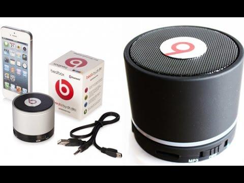 ОБЗОР: Мощная Портативная Стерео Bluetooth Колонка с FM Радио, MP3 .