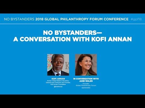No Bystanders—A Conversation with Kofi Annan