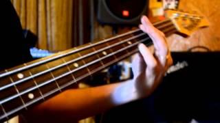 Menuet I (Bach) - bajo fretless