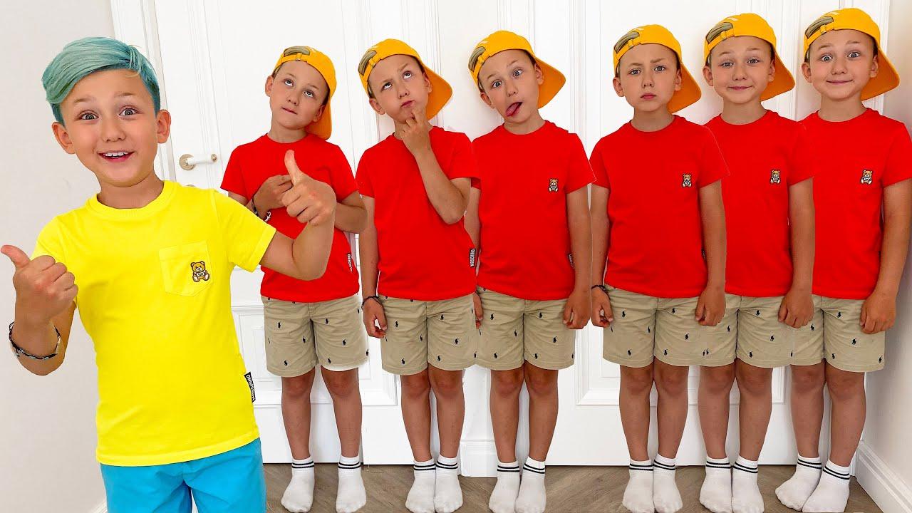 Super Senya and 7 baby clones