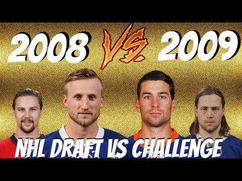 2008 VS 2009 NHL DRAFT CHALLENGE | NHL 17 | ARCADE REGIMENT