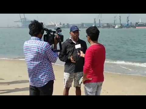 India International Regatta 2017 Competition At Nellore | Sailing Coach Explain to Media People