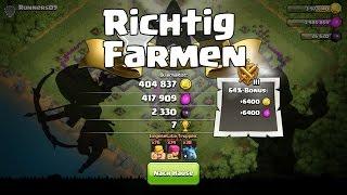 RICHTIG FARMEN!!! || Clash of Clans || Let