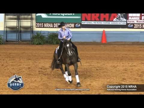 Jenanne Overgaard and Electric Grid 15 NRHA Derby