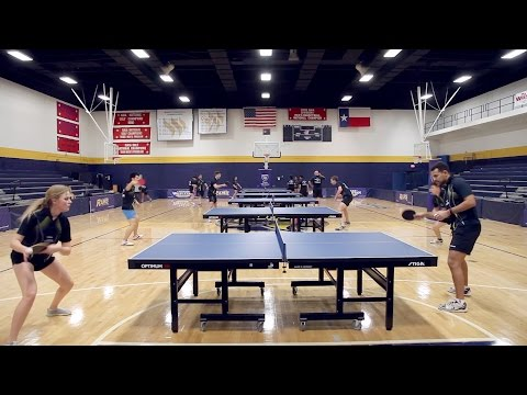 Texas Wesleyan's Table Tennis stars, coming at you