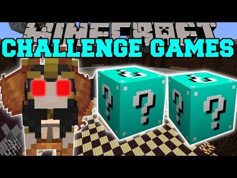 Minecraft: SPHINX CHALLENGE GAMES - Lucky Block Mod - Modded