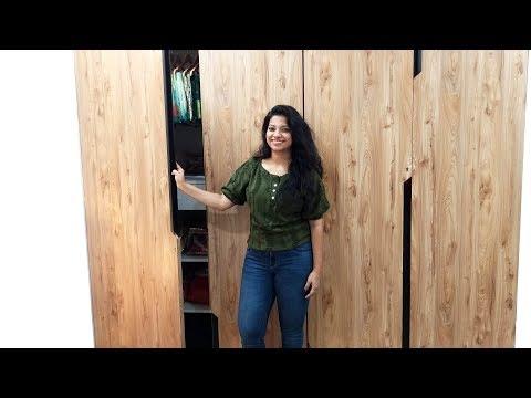 Simple wardrobe design for bedroom in Hindi I बेडरूम के लिए Modular Wardrobe Design IAsk Iosis Hindi