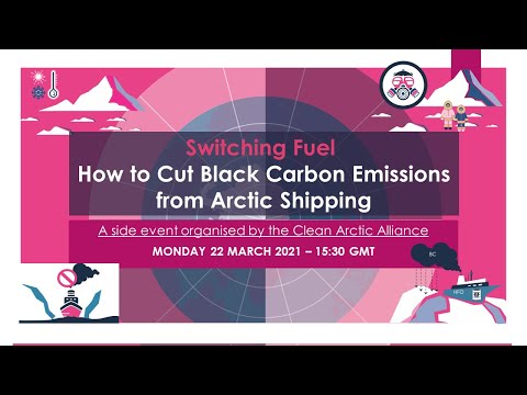 Webinar: Switching Fuel – How to Cut Black Carbon Emissions from Arctic Shipping