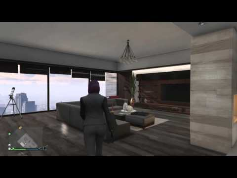 GTA V Online Penthouse Apartment Designs - Sharp (4 of 8)
