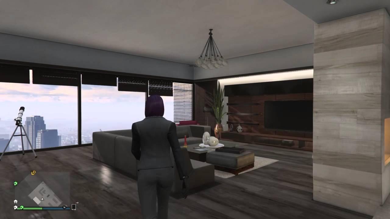 GTA V Online Penthouse Apartment Designs  Sharp 4 of 8