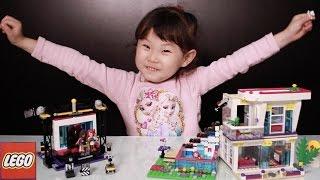 라임이의 레고 프렌즈 41117 팝스타 TV 스튜디오 41135 리비의 팝스타 하우스 장난감 놀이 LimeTube & Toy 라임튜브