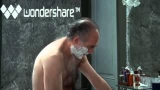 Michel Piccoli in Une Etrange Affaire (complete shaving scene)