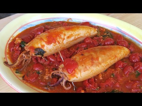 Nonna's Stuffed Calamari Recipe - Laura Vitale - Laura in the Kitchen Episode 939