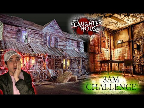 Thumbnail: 3AM CHALLENGE AT HAUNTED SLAUGHTER HOUSE // EXPLORING A HAUNTED SLAUGHTERHOUSE