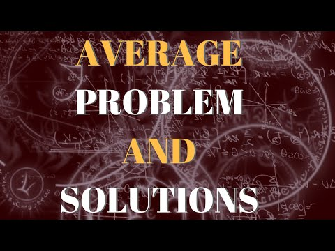 Average Aptitude Problems and Questions – Best Tricks and Solution!