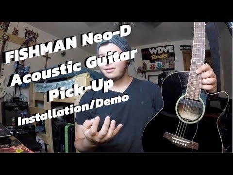 Fishman Neo D Acoustic Pickup Installation/Demo