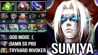 SumiYa Epic Pro Invoker God vs HARD Phantom Cancer Crazy Refresher Combo Intense Game WTF Dota 2