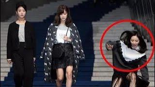 Kpop idols và những khoảnh khắc khó đỡ trên thảm đỏ (EXO,EXID,BlackPink,BTS,SNSD,Apink...)HD