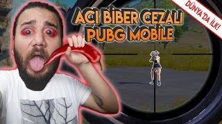 YANIYORUUM! ACI BİBER CEZALI CHALLENGE! - PUBG Mobile