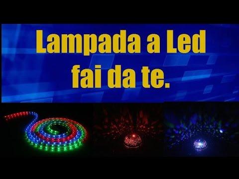 Lavori per tutti costruire una lampada a led fai da te youtube