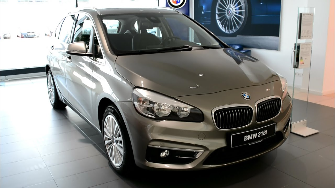 2015 new bmw 2er 218i active tourer f45 youtube. Black Bedroom Furniture Sets. Home Design Ideas