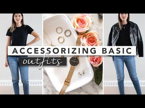 How to Accessorize Like a Pro: 3 Simple Outfit Transformations | by Erin Elizabeth