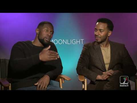 MOONLIGHT Interviews W/ Andre Holland And Trevante Rhodes