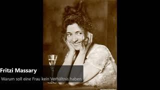 Fritzi Massary - Warum soll eine Frau kein Verhältnis haben (1930)