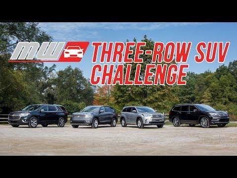 2017 Three Row SUV Challenge | Comparison Test