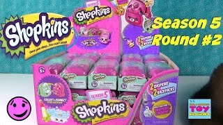 Shopkins Season 5 2 Pack Blind Backpacks Bag Opening Part 2 | PSToyReviews