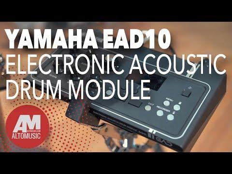 Yamaha EAD10 Electronic Acoustic Drum Module - Alto Music