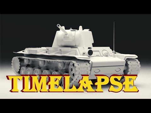 Blender Timelapse - KW-1E