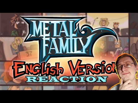 Metal Family (English Version) TRAILER | RUSSIAN REACTION