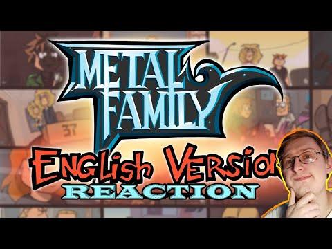 Metal Family (English Version) TRAILER | RUSSIAN REACTION