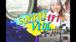 [Vlog] Về Hà Nội cùng Hannah!!! - Summer Vlog EP 1