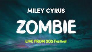 Miley Cyrus - Zombie (Live from Whisky a Go Go #SOSFEST) (Lyrics)