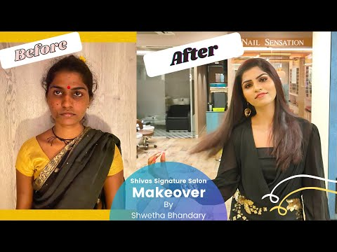 Makeover at Shivas Signature Salon   By Shwetha Bhandary