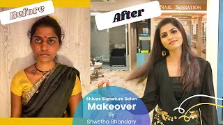 Makeover at Shivas Signature Salon | By Shwetha Bhandary