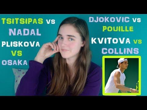 Australian Open Semifinals Preview & Predictions   Osaka vs Kvitova, Nadal vs Tsitsipas & More