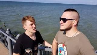 Очень смешное видео с берегов Балтийского моря