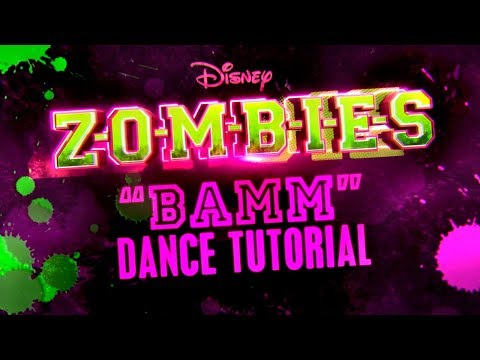 BAMM Dance Tutorial | ZOMBIES | Disney Channel